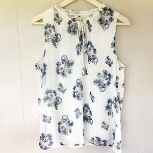 Skies Are Blue Blouse